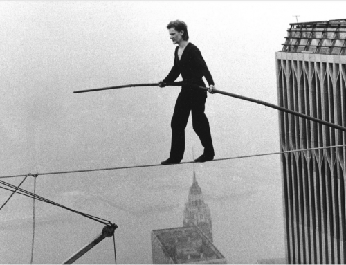 Walking a tightrope on the election result.